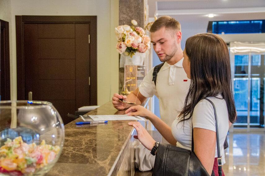 Служба размещения - Гранд отель Гагра - отель европейского уровня в Абхазии