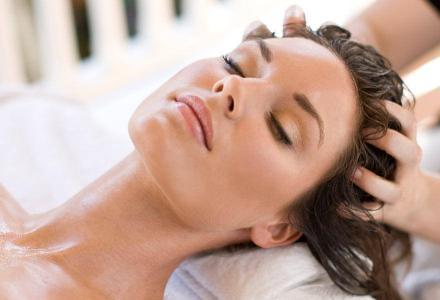 Масляный массаж головы - СПА комплекс - Гранд отель Гагра - отель европейского уровня в Абхазии (Grand Hotel Gagra)