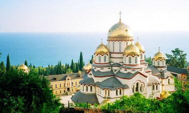 Экскурсия в Ново-Афонский монастырь из Гранд Отель Гагра - Достопримечательности Республика Абхазия