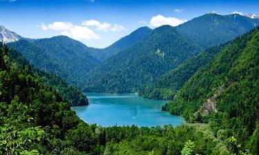 Экскурсия на Озеро Рица из Гранд Отель Гагра - Достопримечательности Республика Абхазия