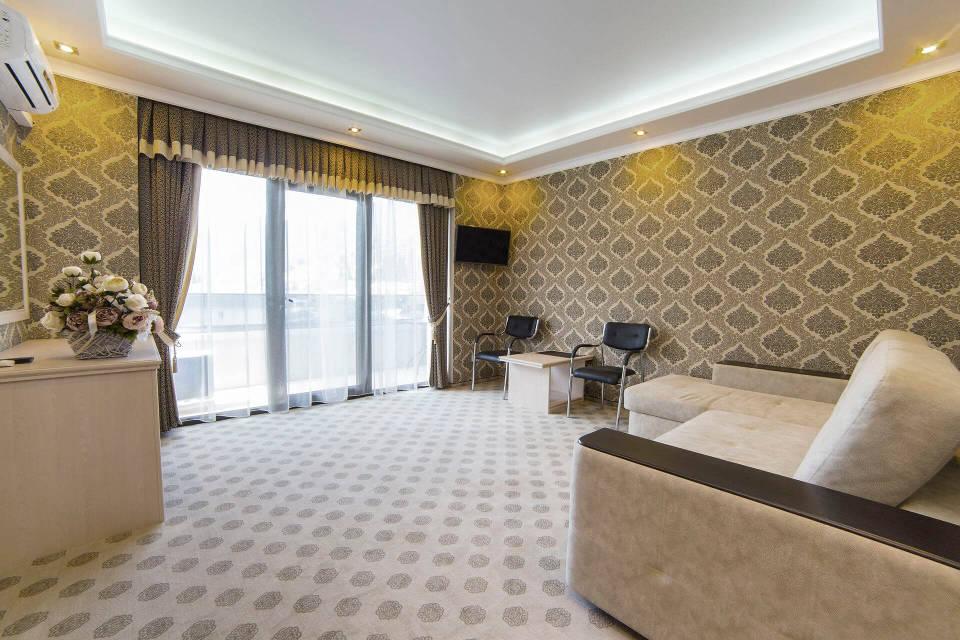 Роскошные номера люкс - Гранд отель Гагра - отель европейского уровня в Абхазии (Grand Hotel Gagra)
